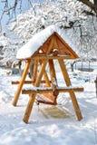 huśtawkowy drewno Fotografia Stock