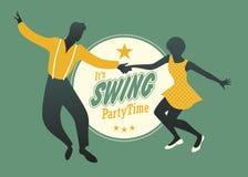 Huśtawkowy Partyjny czas Zdjęcie Stock