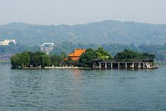 Hu Xin Island, West Lake, Hang Royalty Free Stock Photography