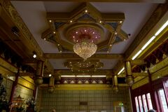 He Hua Buddhist temple Royalty Free Stock Photo
