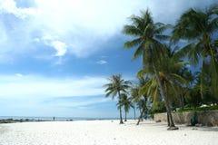 Hua Hin Beach. In Thailand royalty free stock photography