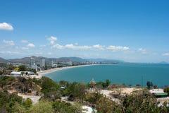 Hua-Hin beach Royalty Free Stock Photography