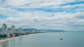 Hua hin beach landscape Stock Images