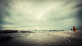 Hua Hin beach Stock Image