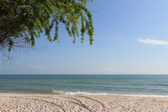 Hua hin beach thailand Stock Images