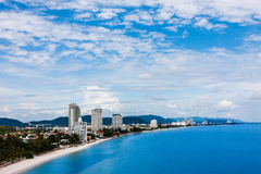 Hua-Hin beach, Thailand Stock Image