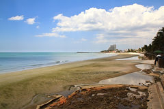 Hua Hin beach,Thailand Royalty Free Stock Photos