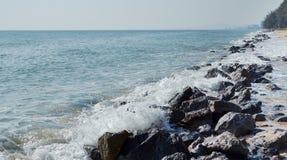 Hua Hin beach Thailand. Hua Hin beach at Thailand royalty free stock images