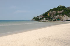 Hua Hin beach in Thailand Royalty Free Stock Photo