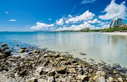 Hua Hin beach,Thailand Royalty Free Stock Photography