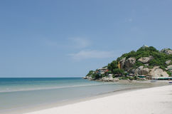 Hua Hin beach in Thailand Stock Image