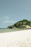 Hua Hin beach in Thailand Royalty Free Stock Photos