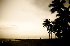 Hua Hin beach Thailand Stock Photography