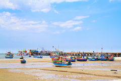 Hua Hin beach,Thailand Royalty Free Stock Photo