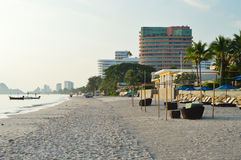 Hua Hin beach. Stock Images