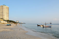 Hua Hin beach. Royalty Free Stock Photo