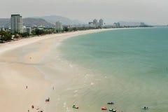 Hua Hin Beach,Thailand. Stock Photos