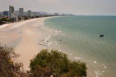 Hua Hin Beach,Thailand. Royalty Free Stock Photo