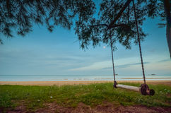 Hua Hin beach Thailand Royalty Free Stock Images