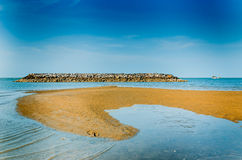 Hua Hin beach ,Thailand Stock Photography