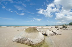 Hua Hin beach,Thailand Stock Photo