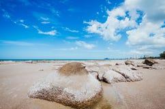 Hua Hin beach Thailand Royalty Free Stock Images