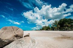 Hua Hin beach Thailand Stock Photo