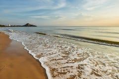 Hua Hin beach Thailand Stock Photography