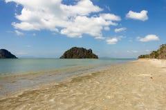 Hua HIn beach, Trang Royalty Free Stock Photo
