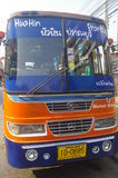 Hua Hin bus Royalty Free Stock Photography
