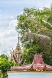 Hua Hin Catfish Temple Fountain Royalty Free Stock Images