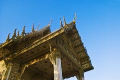 Hua hin dłoni temple Thailand obraz stock