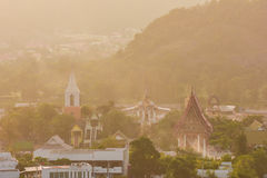 Hua Hin district landscape in Thailand Stock Photo