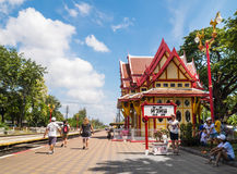 Hua Hin famous railway , Prajuabkirikhan, Thailand Stock Photography