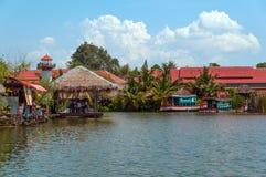 Hua Hin Floating Market in Hua Hin. Thailand. Royalty Free Stock Photos