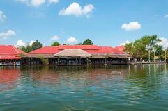 Hua Hin Floating Market in Hua Hin. Thailand. Royalty Free Stock Photo