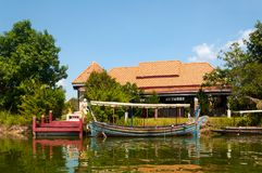 Hua Hin Floating Market in Hua Hin. Thailand. Stock Image