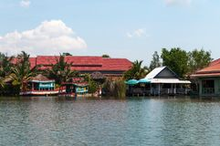 Hua Hin Floating Market in Hua Hin thailand royalty-vrije stock fotografie