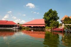 Hua Hin Floating Market in Hua Hin thailand stock afbeeldingen