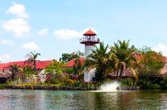 Hua Hin Floating Market in Hua Hin thailand royalty-vrije stock afbeelding