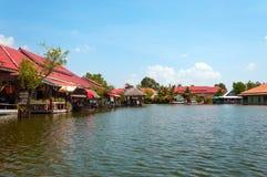 Hua Hin Floating Market in Hua Hin thailand stock foto