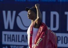 Hua Hin-Jan 1: Keine Welt Spieler des Tennis 7 Venus Williams von USA herein stockfoto