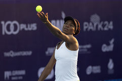 Hua Hin-Jan 1: World No.7 Tennis player Venus Williams of USA in Stock Photo