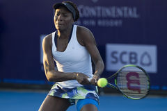 Hua Hin-Jan 1: World No.7 Tennis player Venus Williams of USA in Stock Images