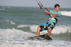 Hua Hin Kite Boarding World Cup 2010 Stock Photos