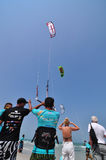 Hua Hin Kite Boarding World Cup 2010 Royalty Free Stock Image