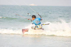Hua Hin Kiteboard World Cup 2011 Royalty Free Stock Image