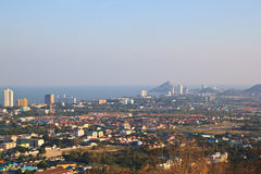 Hua Hin landscape,Thailand Royalty Free Stock Photo