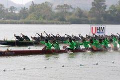 Hua Hin Long Boat Competition 2011 Royalty Free Stock Image
