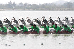 Hua Hin Long Boat Competition 2011 Royalty Free Stock Photography